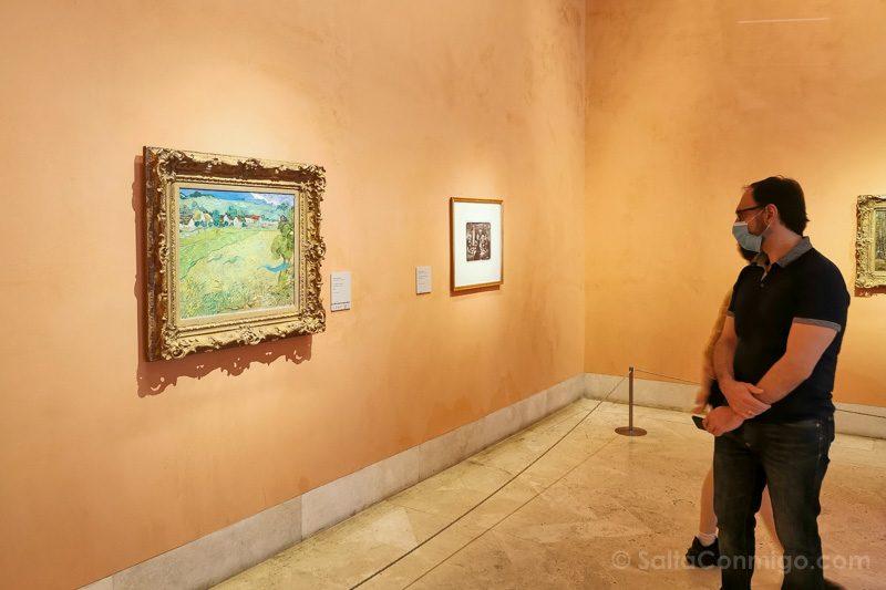 Museo Nacional Thyssen-Bornemisza Madrid Van Gogh Vessenots