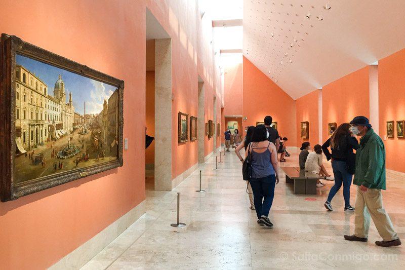 Museo Nacional Thyssen-Bornemisza Madrid Vanvitelli Piazza Navona