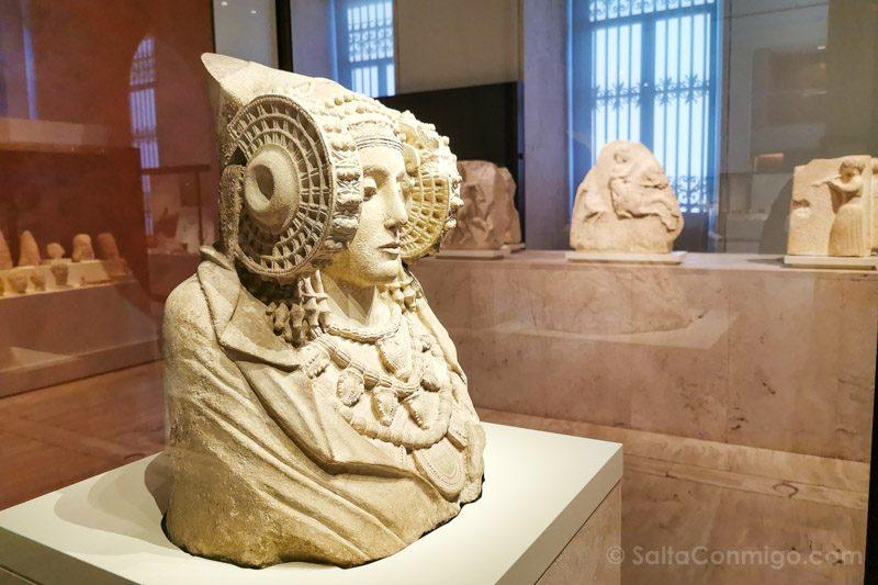Museos de Madrid Museo Arqueologico Nacional Dama Elche