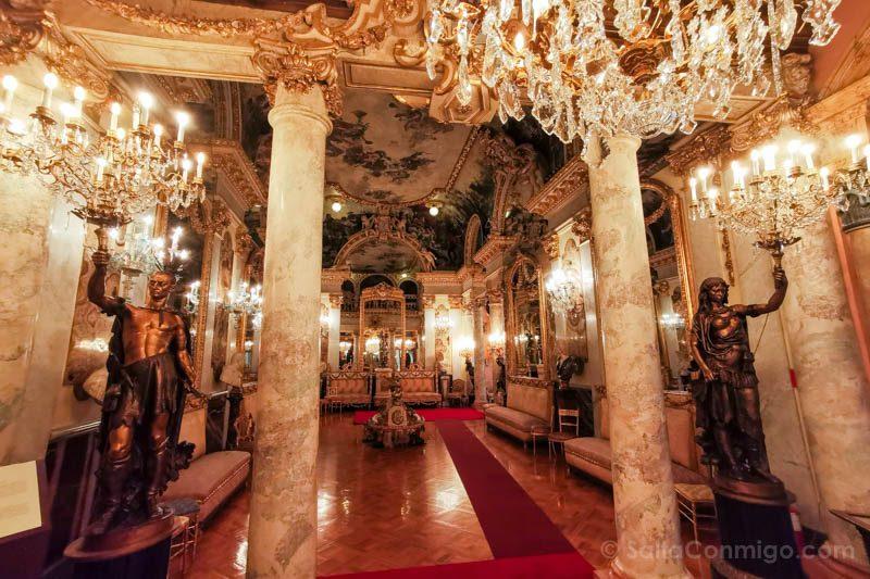 Museos de Madrid Museo Cerralbo Salon Baile