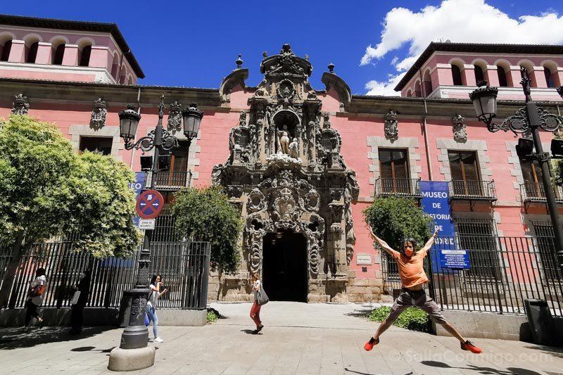 Museos de Madrid Museo Historia Fachada Salto