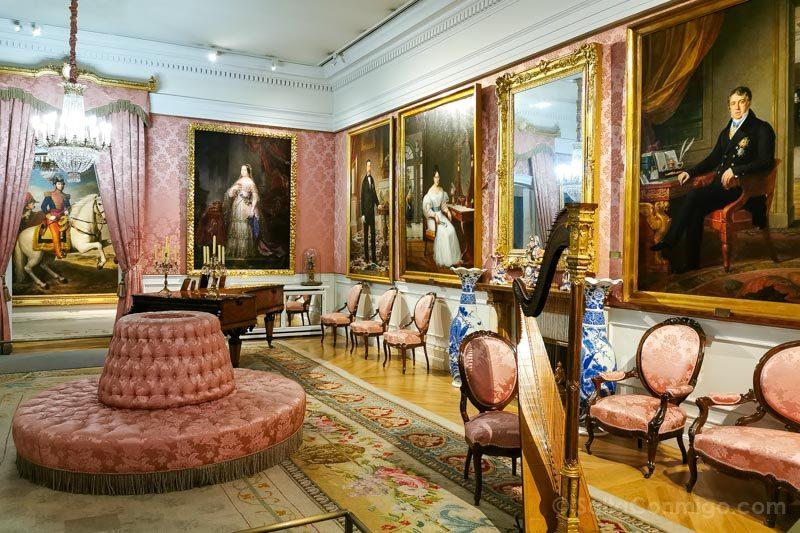 Museos de Madrid Museo Romanticismo Sala Principal