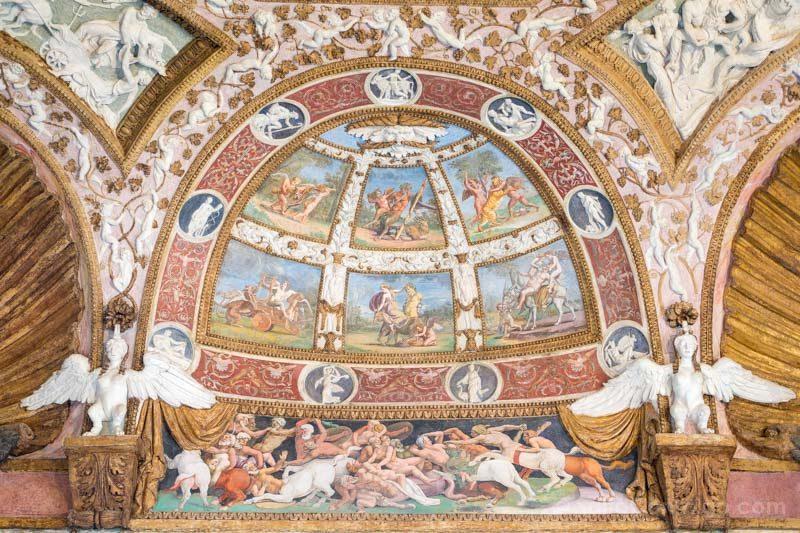 Palacio Del Te Palazzo Mantua Camera Aquile