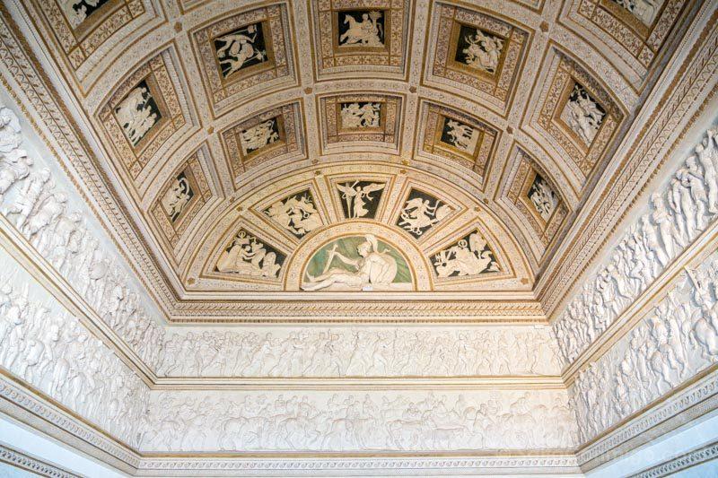 Palacio Del Te Palazzo Mantua Camera Stucchi