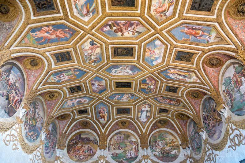 Palacio Del Te Palazzo Mantua Camera Venti