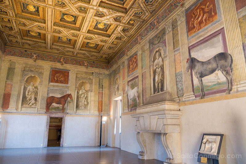 Palacio Del Te Palazzo Mantua Sala Cavalli