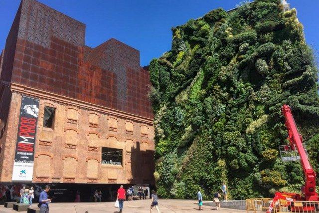 Parques Madrid Caixa Forum