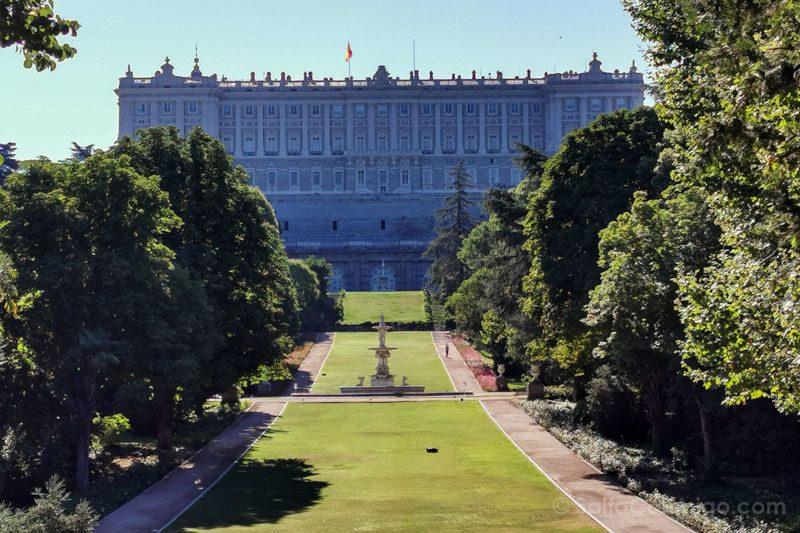 Parques Madrid Campo Moro Palacio Real