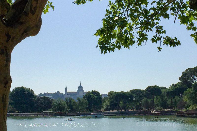 Parques Madrid Casa de Campo Lago Catedral Almudena