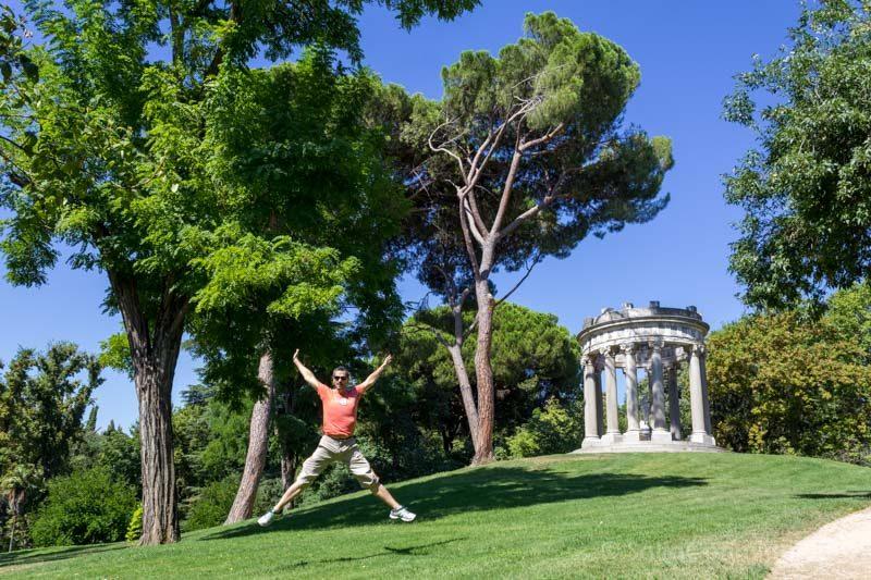 Parques Madrid El Capricho Salto