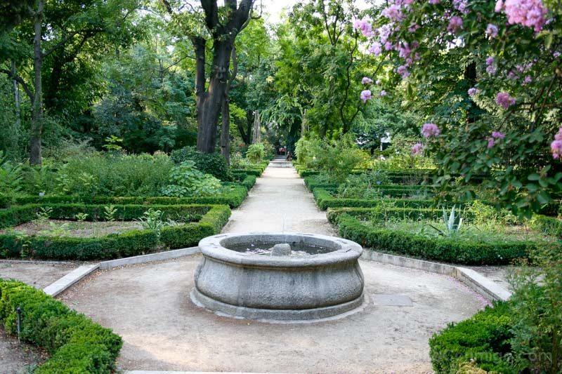Parques Madrid Real Jardin Botanico