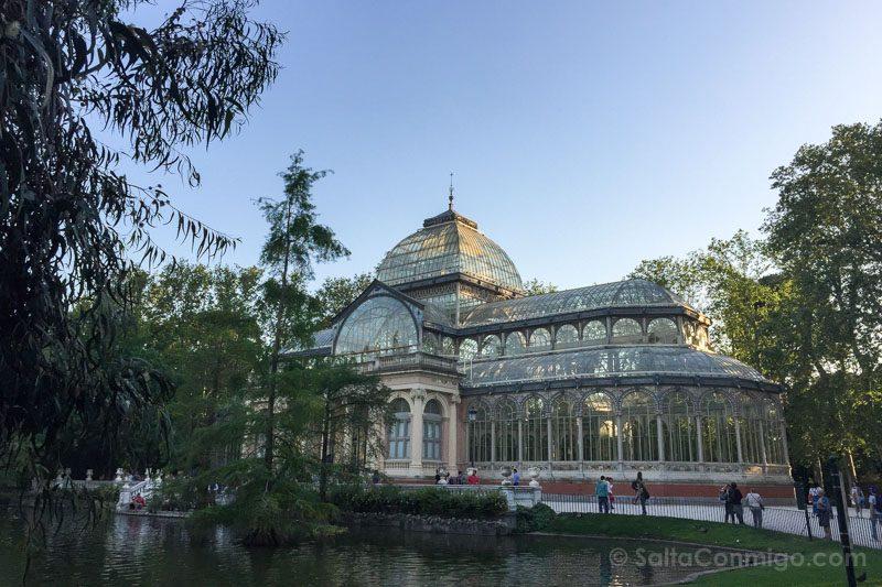 Parques Madrid Retiro Palacio Cristal