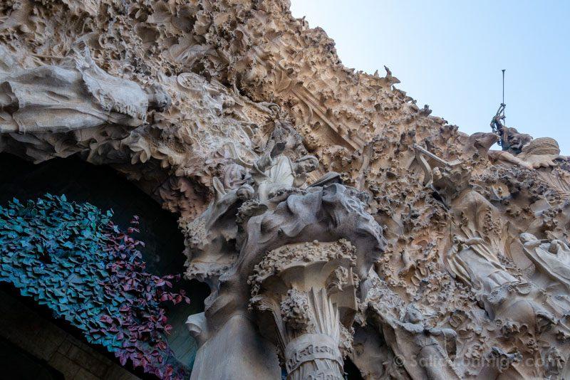 Sagrada Familia Barcelona Fachada Natividad Angulo