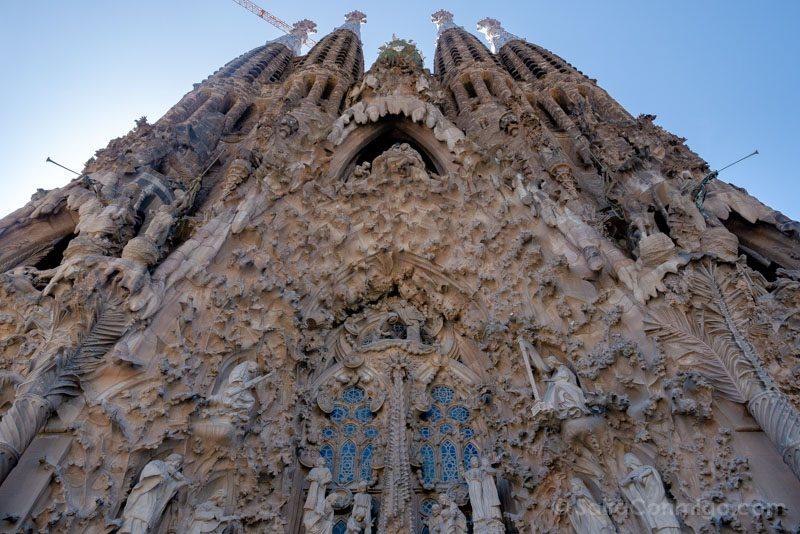 Sagrada Familia Barcelona Fachada Natividad Torres