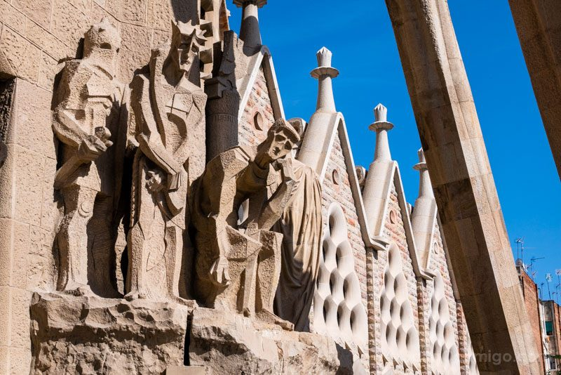 Sagrada Familia Barcelona Fachada Pasion Presentacion