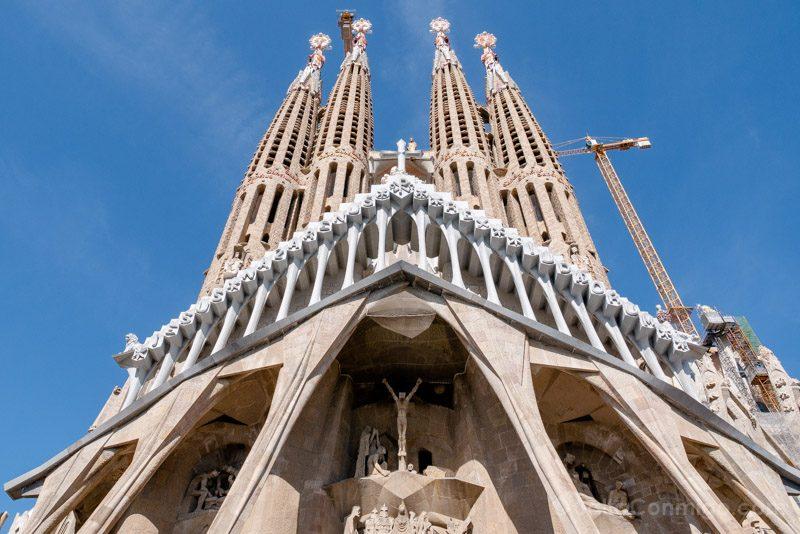 Sagrada Familia Barcelona Fachada Pasion Torres