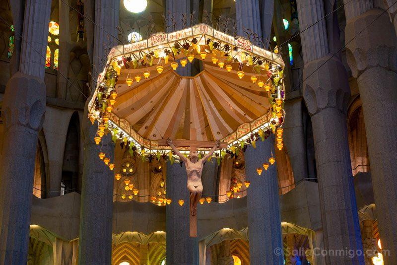 Sagrada Familia Barcelona Interior Altar