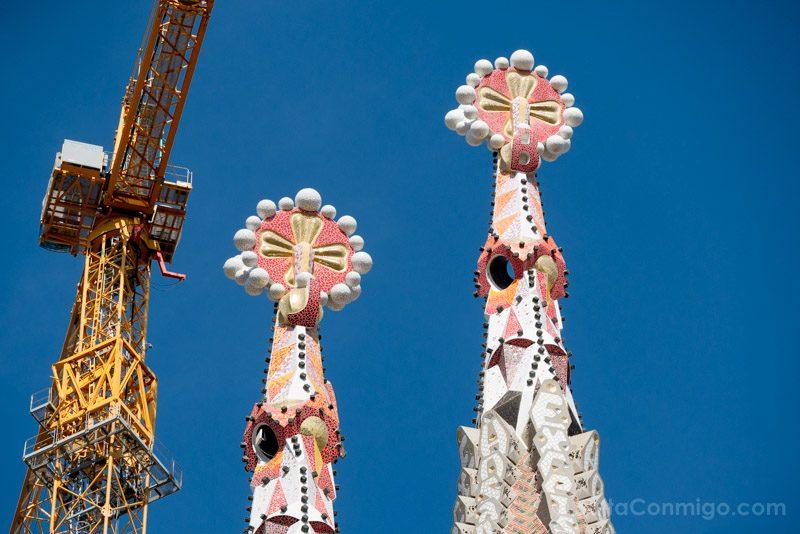 Sagrada Familia Barcelona Pinaculos