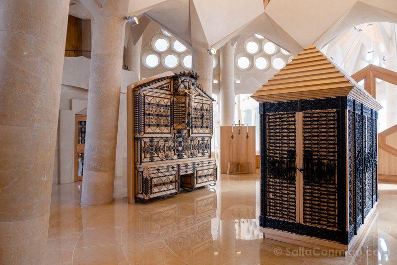 Sagrada Familia Barcelona Sacristia