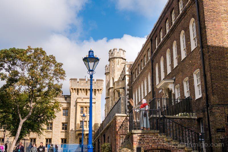 Torre De Londres Edificios Visita Teatralizada
