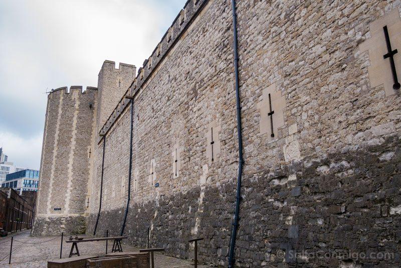 Torre De Londres Muralla