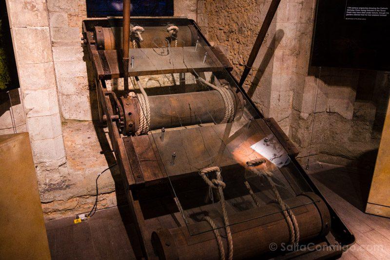 Torre De Londres Tortura Rack