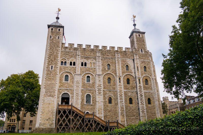 Torre De Londres White Tower Entrada