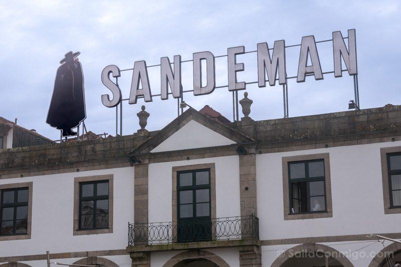 Bodegas Oporto Bodega Sandeman Fachada