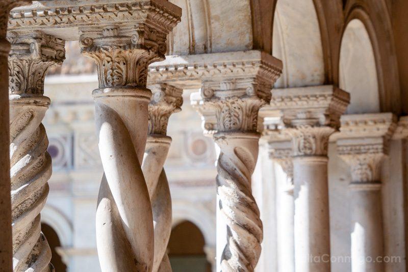 Iglesias de Roma Archibasilica San Juan Letran Claustro