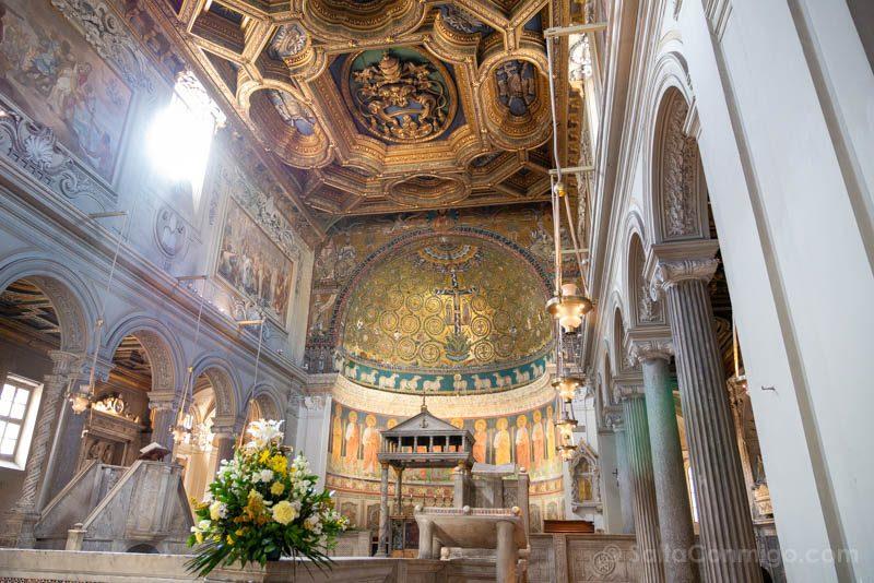 Iglesias de Roma Basilica San Clemente Nave