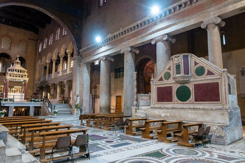 Iglesias de Roma Basilica San Lorenzo Fuori Mura
