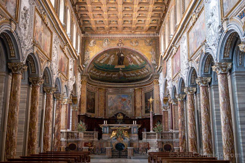 Iglesias de Roma Basilica San Marcos Nave
