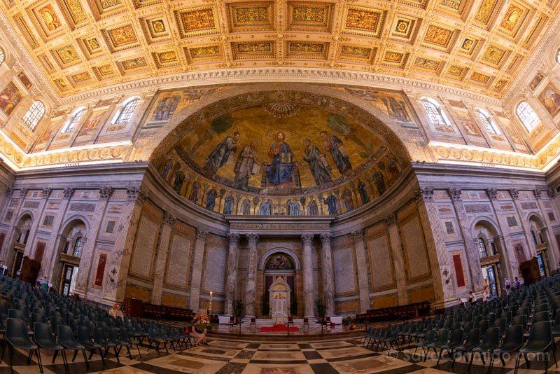 Iglesias de Roma Basilica San Pablo Fuori Mura
