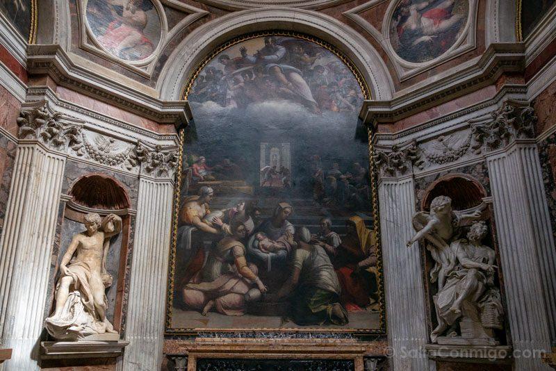 Iglesias de Roma Basilica Santa Maria Popolo Capilla Chigi