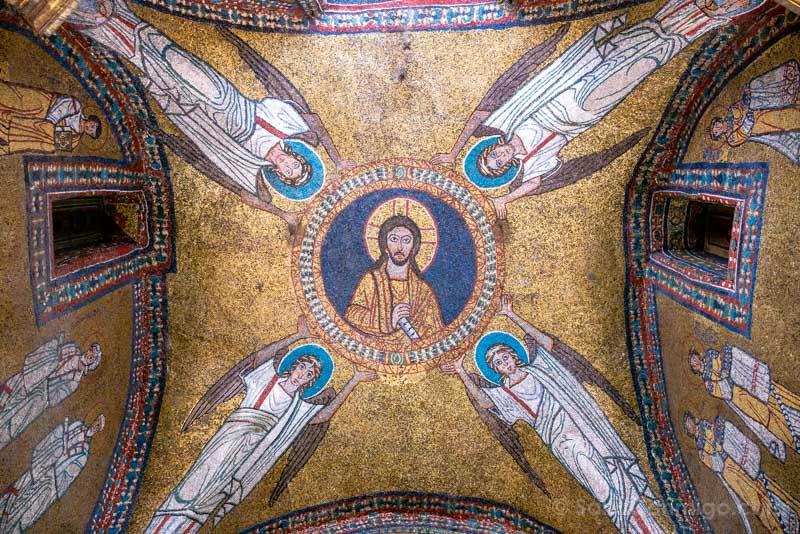 Iglesias de Roma Basilica Santa Praxedes Capilla San Zenon Mosaico