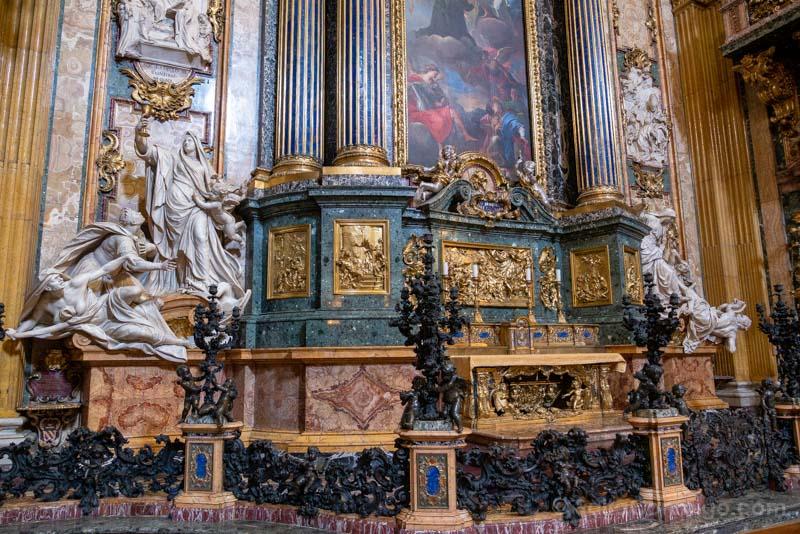 Iglesias de Roma Iglesia Gesu Capilla San Ignacio