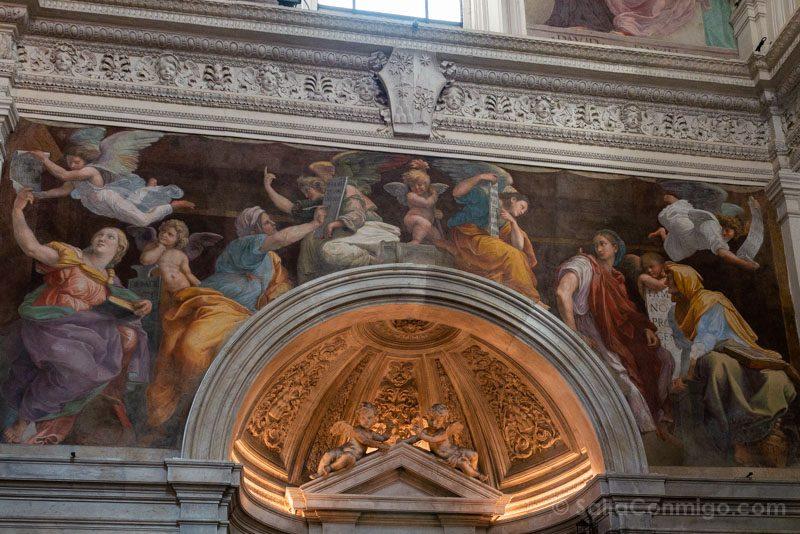 Iglesias de Roma Iglesia Santa Maria Paz Rafael