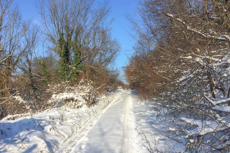 Ivanovo Camino Iglesias Rupestres Nieve