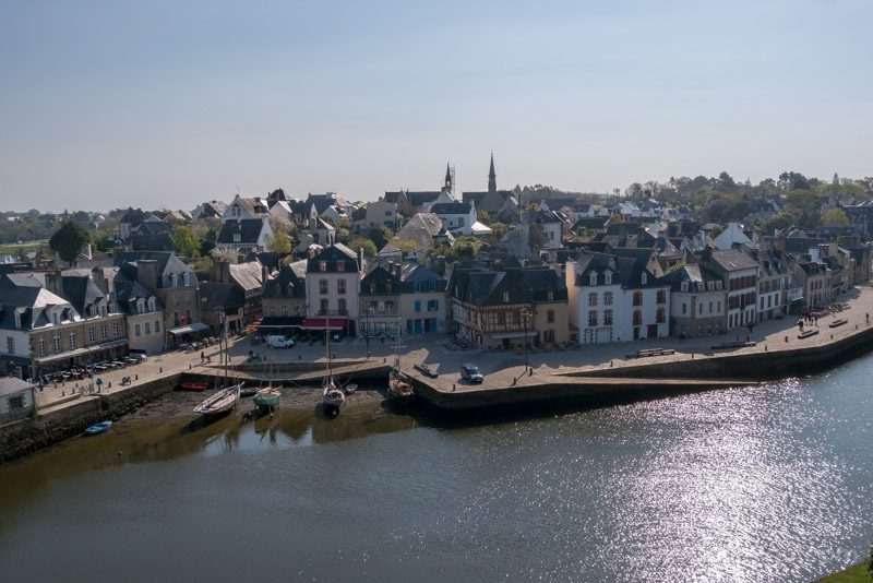 Pueblos Bretana Francia Auray Saint-Goustan