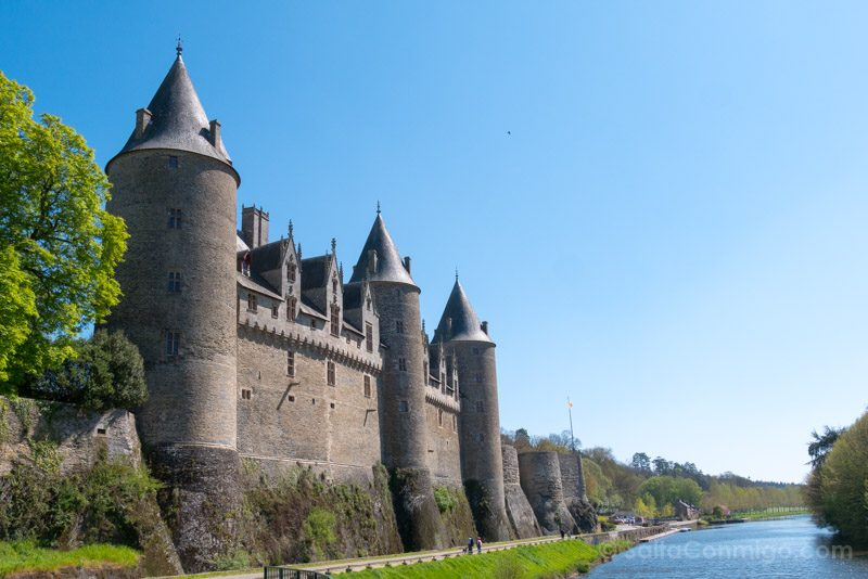 Pueblos Bretana Francia Josselin Castillo