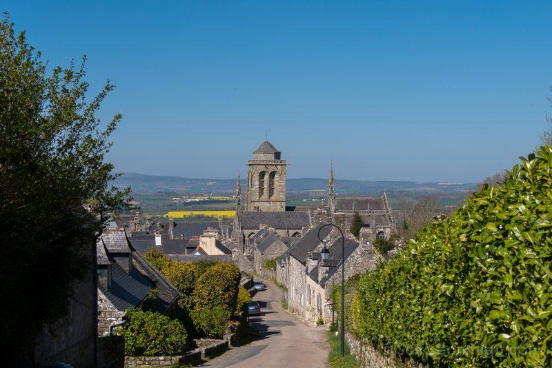 Pueblos Bretana Francia Locronan Vista