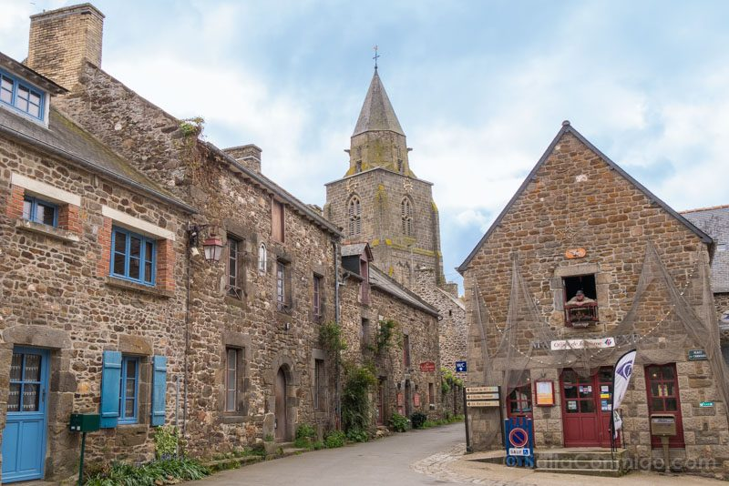 Pueblos Bretana Francia Saint-Suliac Casas Redes