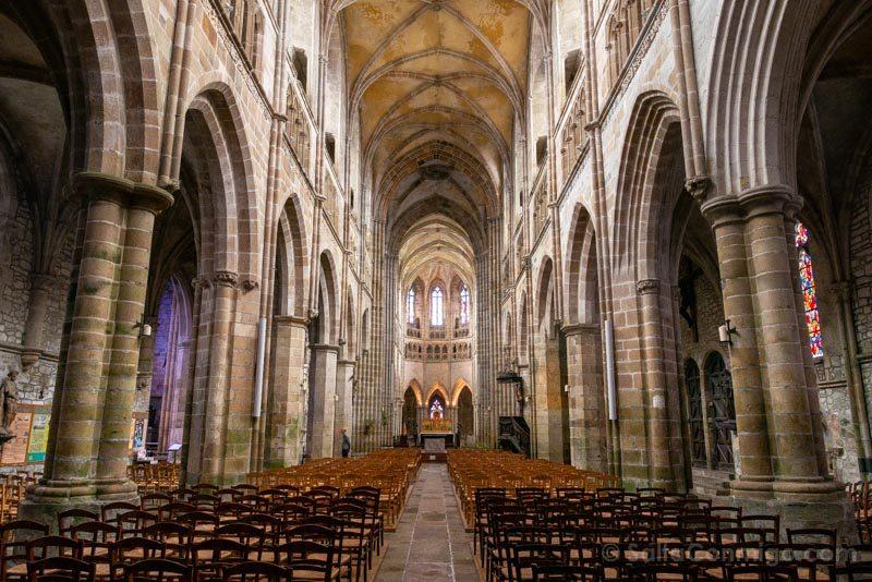 Pueblos Bretana Francia Treguier Catedral Saint-Tugdual