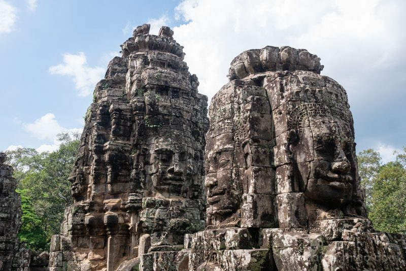 Angkor En 2 Dias Angkor Thom Bayon Caras