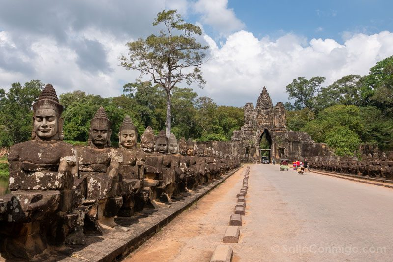 Angkor En 2 Dias Angkor Thom Puerta Sur