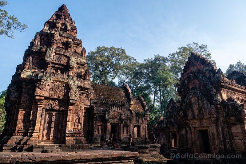 Angkor En 2 Dias Banteay Srei Edificio