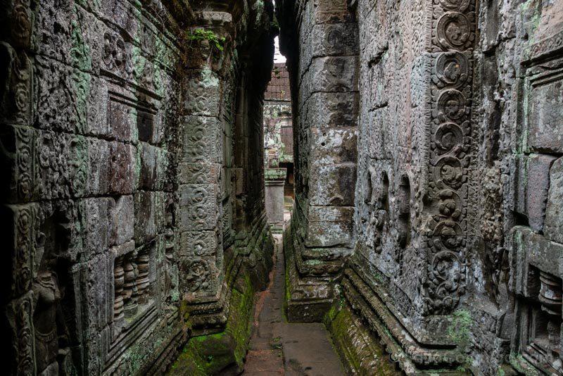 Angkor En 2 Dias Preah Khan Pasillo