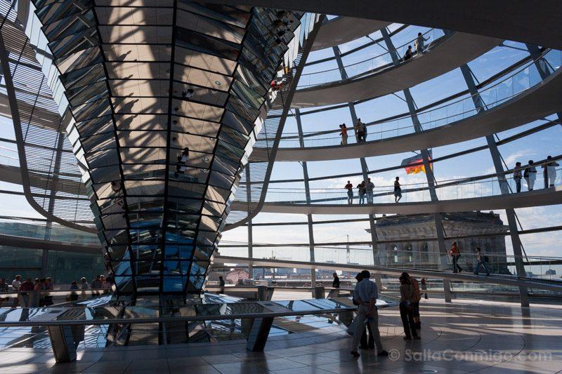 Arquitectura Contemporanea Norman Foster Cupula Reichstag Berlin