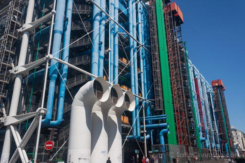 Arquitectura-Contemporanea Renzo Piano Centro Pompidou Paris