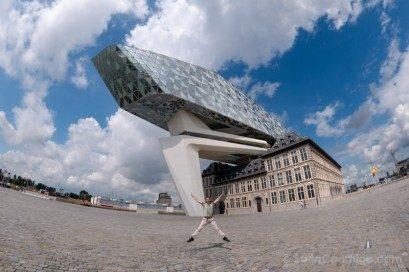 Arquitectura Contemporanea Zada Hadid Autoridad Portuaria Amberes Salto